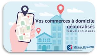 Vos commerces à domicile géolocalisés